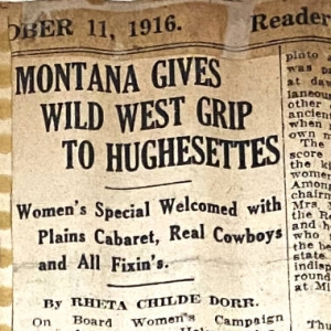 Montana Gives Wild West Grip to Hughesettes