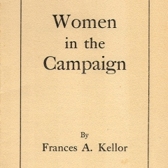Women In the Campaign by Frances A. Kellor, originally published in Yale Review