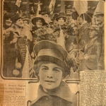 Elisabeth Freeman featured in the Los Angeles Evening Express