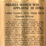 """Clipping of warm welcome in Iowa, after """"chill"""" of Chicago"""