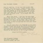 Louis P. Lochner to Elisabeth Freeman, page 2
