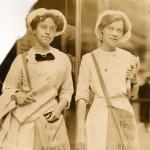 Rosalie Jones and Elisabeth Freeman in Ohio 1913
