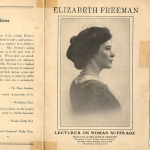 Elisabeth Freeman, Lecturer on Woman Suffrage
