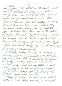 Elisabeth Freeman to Agnes E. Ryan, p2