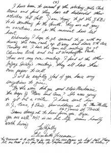 Elisabeth Freeman to Agnes E. Ryan, p4