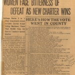 Ohio vote on Woman's Suffrage
