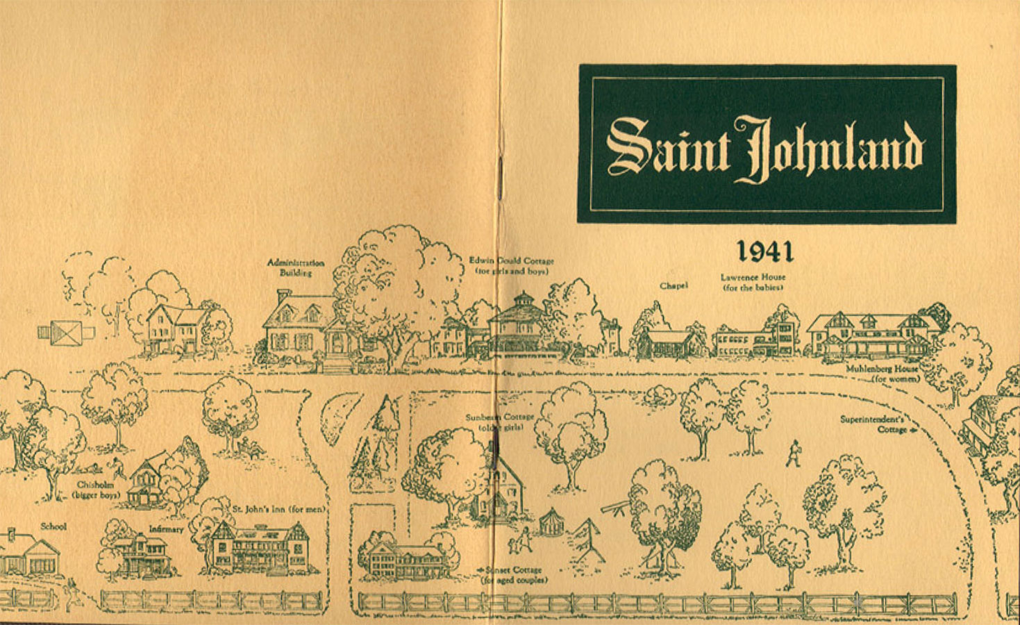 St. Johnland, an orphanage on Long Island